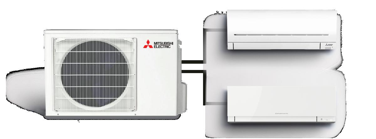 Šilumos siurblys / kondicionierius (iki 5 vidinių) Multi Split MXZ