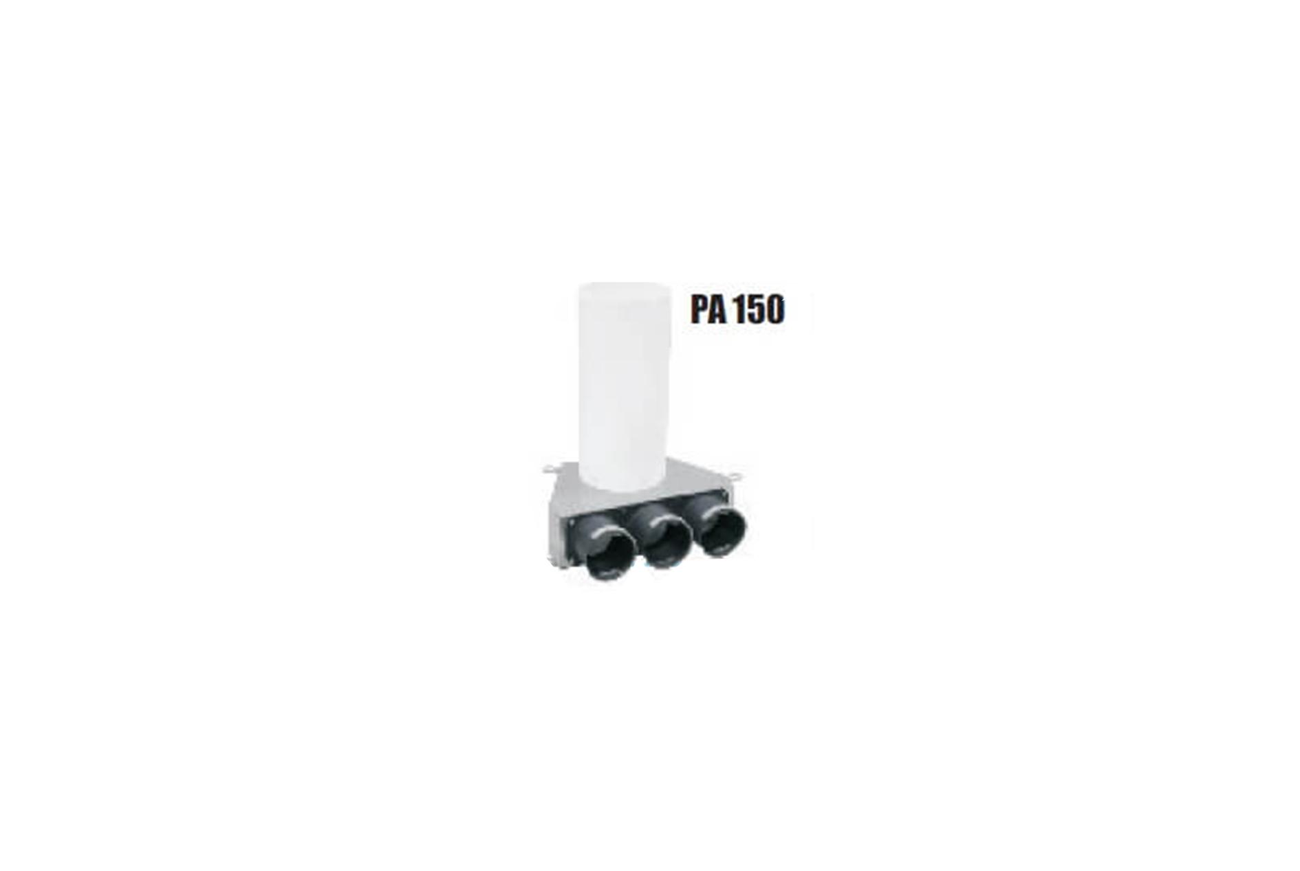 Difuzorių pajungimo dėžutė PA 150