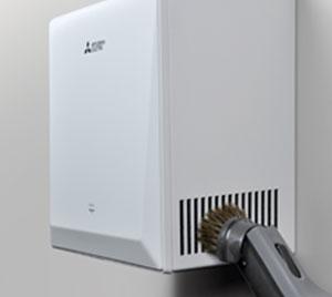 Paprasta oro filtrų priežiūra