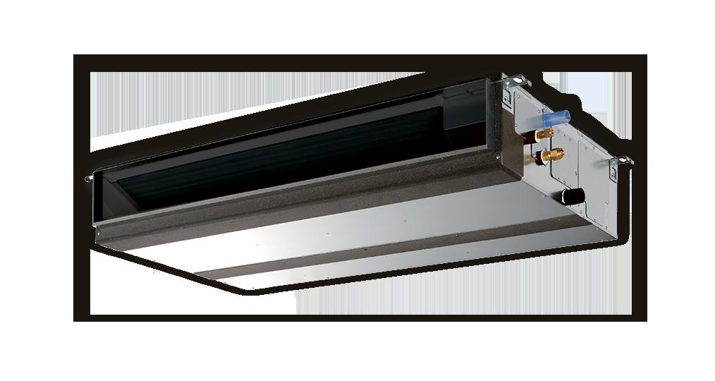 Kanalinis šilumos siurblys / kondicionierius PEAD-M100JAL