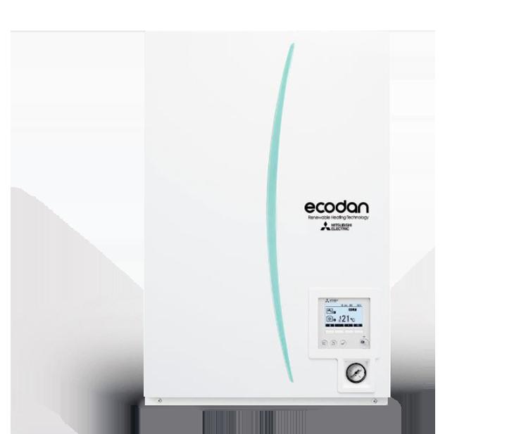 "PACKAGE /Monobloko  sistema  ECODAN ""Hydro-box""  be boilerio EHPX-YM9D"