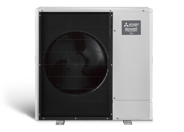 Power Inverter ZUBADAN serijos šilumos siurblys PUD-SHWM100