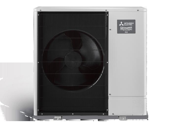 Power Inverter ZUBADAN serijos šilumos siurblys PUD-SHWM120